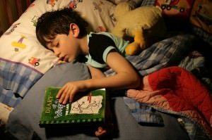 Bedwetting - Bedwetting Types - Sleep Disorders - Boy Reading