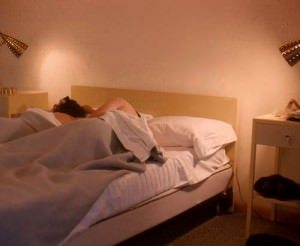 Bedwetting - Bedwetting Types - Sleep Disorders - Couple in Bed
