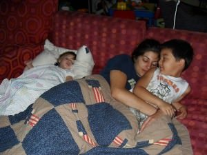 Family Bed Sharing